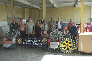 rotary club tarbes bigorre convoi humanitaire pour le. Black Bedroom Furniture Sets. Home Design Ideas